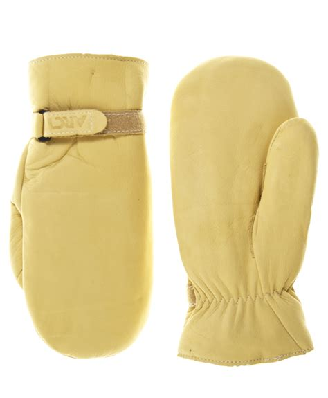 Cowhide Mittens by S Cowhide Leather Mittens By Raber Gloves Free Usa