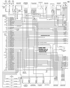 Ford Diagramas Control Del Motor 1995 Probe  Ranger