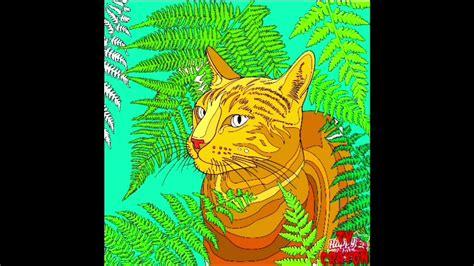 Cara menggambar dan mewarnai kucing pelangi. Video Mewarnai Kucing   Kumpulan Gambar Bagus