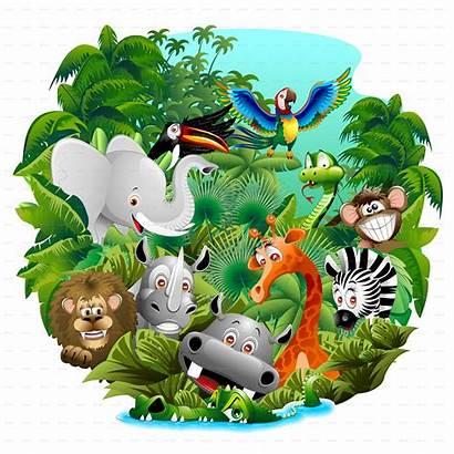 Animals Cartoon Wild Jungle Screenshots
