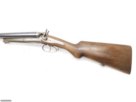 Double Hammer Underlever Shotgun 12 Ga By Husqvarna