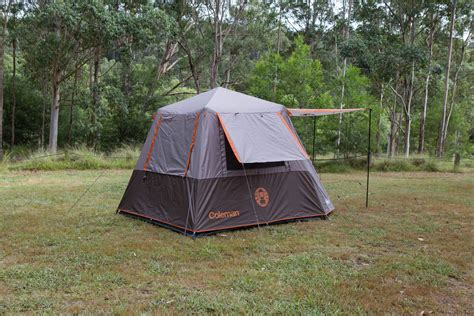 coleman  person instant  tent silver full fly tentworld