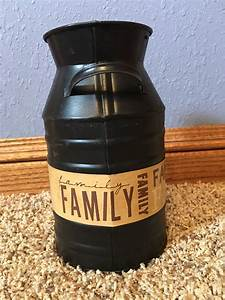 Family, Milk, Can, By, Countrywoodsgifts, On, Etsy