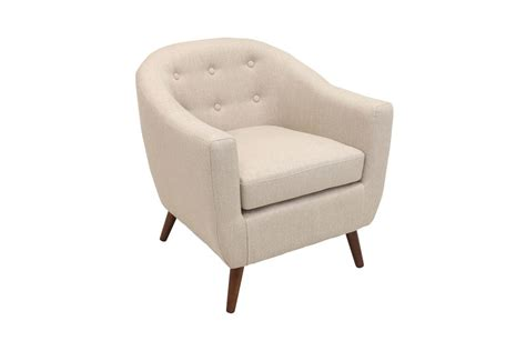 rockwell mid century modern accent chair in by