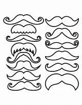 Mustache Outline Moustache Pdf Photobooth Coloriage Template Coloring Imprimer Fiesta Drugs Printable Manualidades Docs Afkomstig Shapes Guardado Desde sketch template