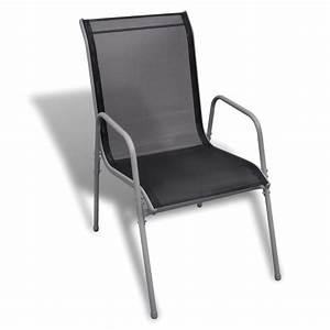 Chaise Salon De Jardin : salon de jardin table 190 cm et 8 chaises ~ Teatrodelosmanantiales.com Idées de Décoration