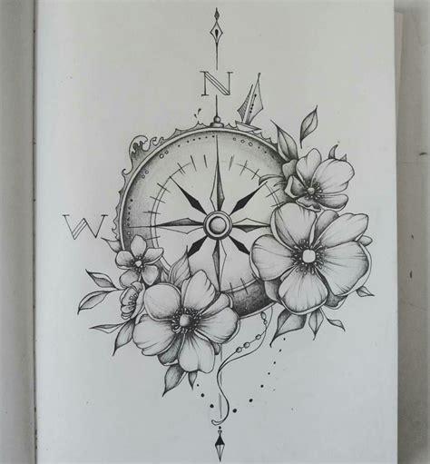 boussole tatoo