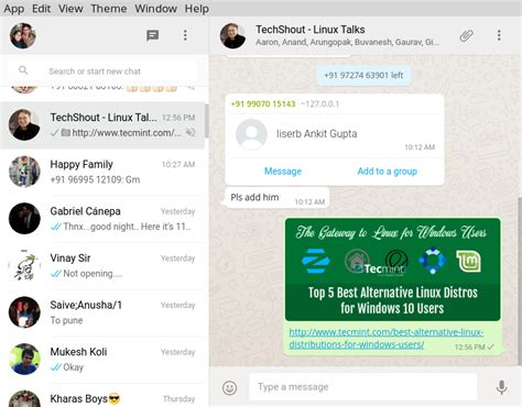 alternative im clients for whatsapp messenger and
