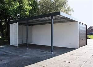 Carport Mit Anbau : fertiggarage mit carport die garagen carport profis ~ Articles-book.com Haus und Dekorationen