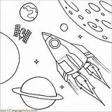 Coloring Spaceship Satellite Drawing Print Pages Ship Printable Getdrawings Getcolorings Colornimbus sketch template
