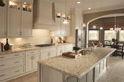 crema caramel granite countertops with backsplash   Google