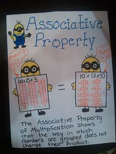 Associative Property Of Multiplication Worksheets 6th ...