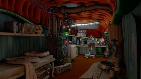 wohnwagen innenraum neu gestalten vorstellung klassisches point and click adventure visionaire studio