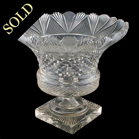 Antique Glass Vase by Antique Glass Vase Cut Vase