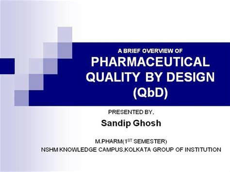 quality by design quality by design qbd authorstream
