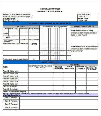 excel report templates  sample  format
