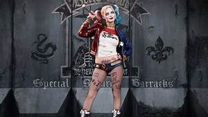 Suicide, Squad, Harley, Quinn, Margot, Robbie, Poster