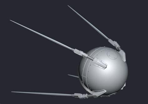 Sputnik 3D model VR / AR ready | CGTrader