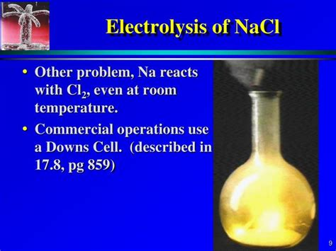electrolysis applications powerpoint  id