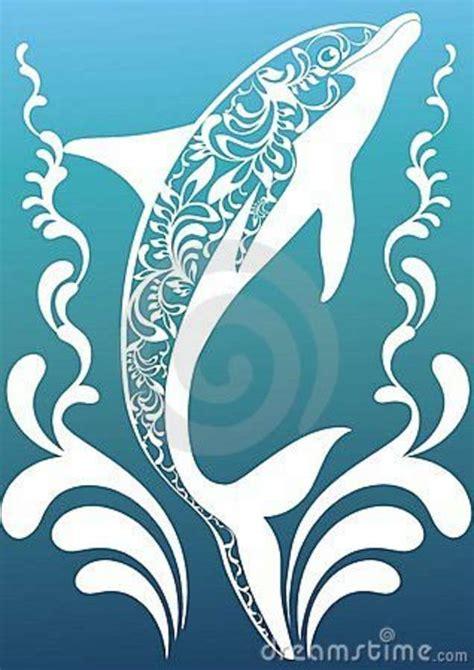 Dolphin mandala svg, zentangle svg, mandala dolphin svg. Blue Ornamental Dolphin Royalty Free Stock Photography ...