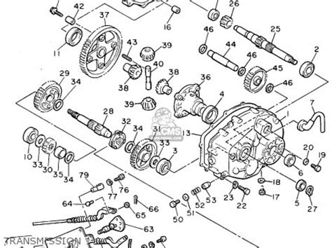 Ezgo Golf Cart Differential Diagram by Yamaha G8ak Golf Car 1994 Parts Lists And Schematics