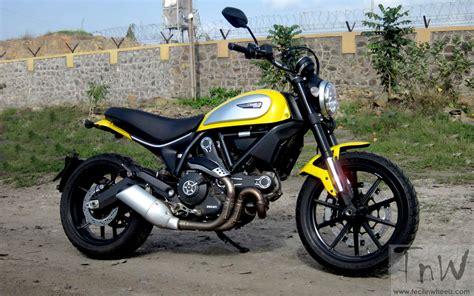 Ducati Scrambler Icon Image by 2015 Ducati Scrambler Icon Tech N Wheelz