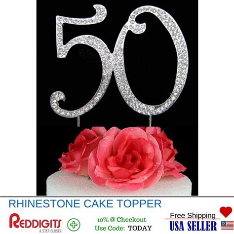large rhinestone number 6 anniversary 1000 ideas about 50th wedding anniversary on