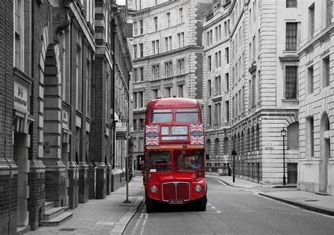 Red London Bus Decorating Wallpaper Mural Art10free