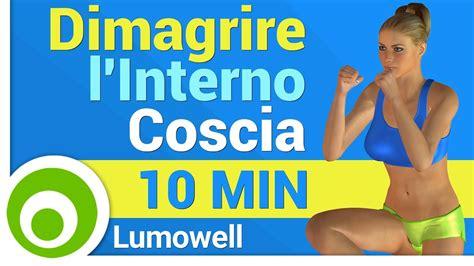 Rassodare Interno Coscia Velocemente by Dimagrire L Interno Coscia