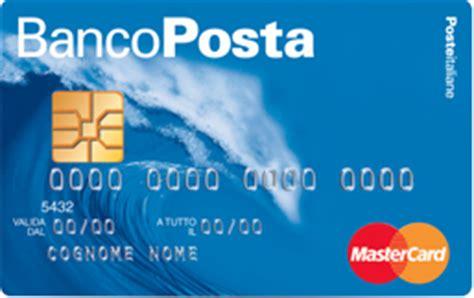 carta bancoposta pi 249 troppo compass poco poste italiane