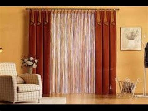 como hacer cortinas elegantes  salas  youtube