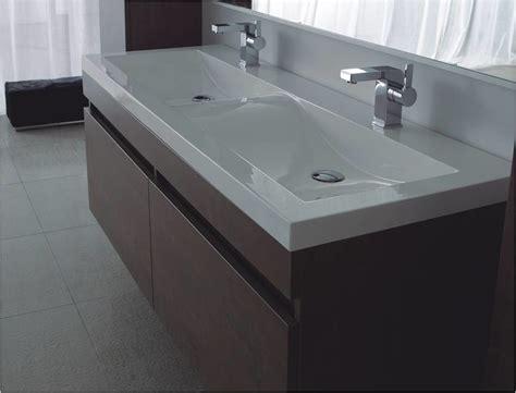Badmöbel Set Anthrazit Doppelwaschbecken by Badm 246 Bel Doppelwaschtisch Modern One Bath