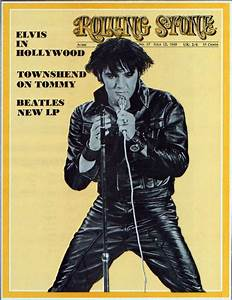 Elvis Presley - Rolling Stone Cover - July 12th, 1969. No ...