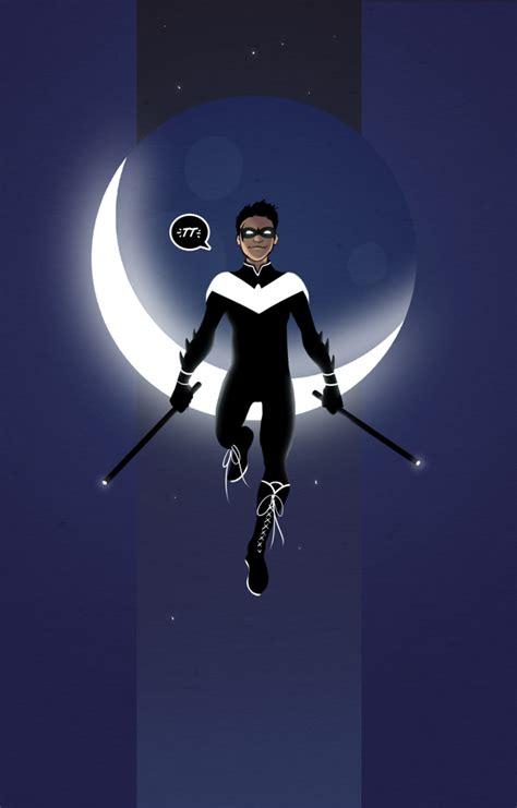 damian nightwing wayne rern fan batman robin straight contemplating request batgirl dc comments comics taking stuff starfire son role comic
