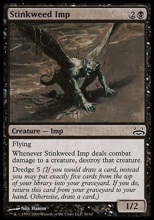mtg dredge deck vintage stinkweed imp duel decks vs demonic