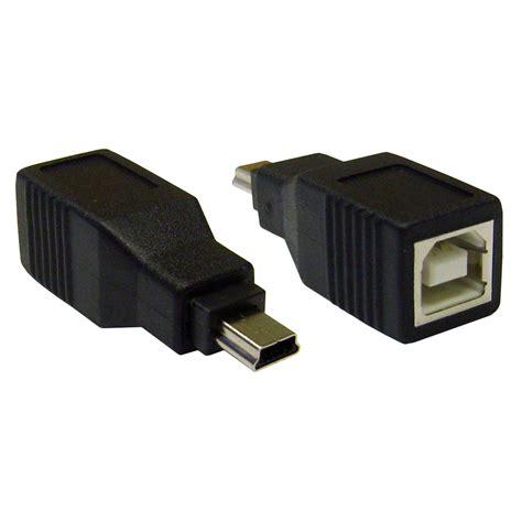 usb b to mini b adapter usb b usb mini b 5 pin