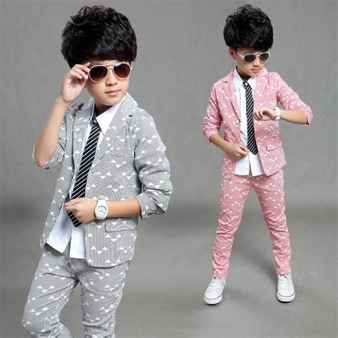 formal suits  teenagers coatpants clothing set