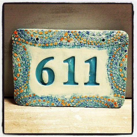 21 best images about house numbers name plaques on