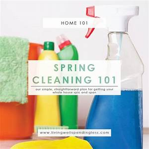 Spring Cleaning 101 | Spring Cleaning Made Easy