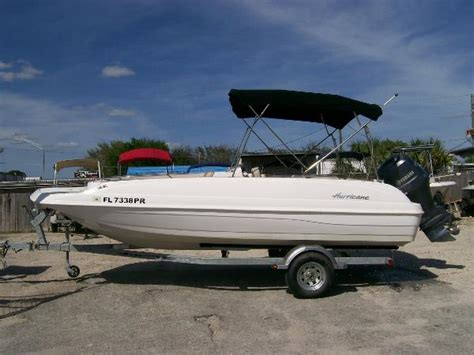 Fun Deck Boats For Sale by Hurricane Fun Deck 211 Boats For Sale