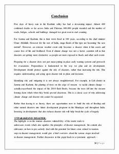 How To Write A Essay For High School Article On Disaster Management In India Pdf The Thesis Statement In A Research Essay Should also Health Issues Essay Essay On Disaster Management People Who Do Assignments For Money  How To Write Essay Proposal