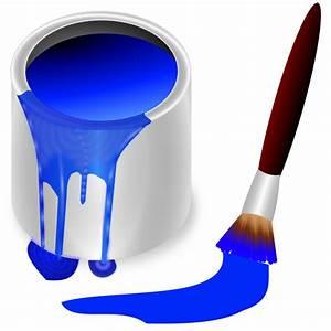 Clipart - color bucket blue