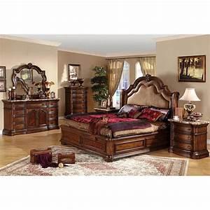 San marino 5 piece california king size bedroom set by cdecor for California king size bedroom sets