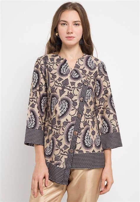 Blouse New Batik blouse batik tapak kebo 0 batik di 2019 blouse batik