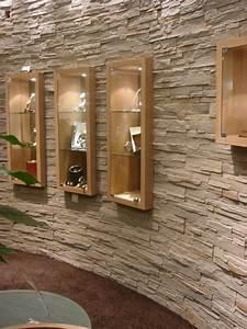 Steinwände Für Innen : moderne steinwand f r den selbsteinbau steine an die wand ~ Michelbontemps.com Haus und Dekorationen