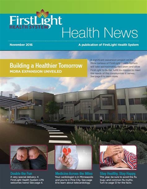 Light Health System by Press Releases Archives Firstlight Hospital And Clinics