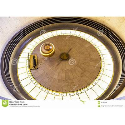 Foucault Pendulum In Griffith Park Editorial Stock Photo