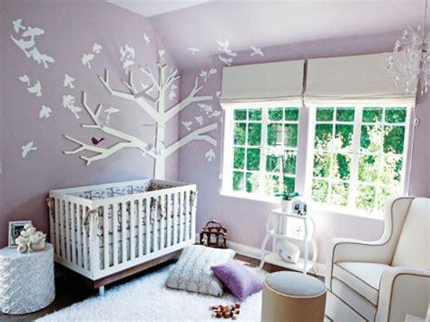 chambre bébé arbre déco chambre arbre