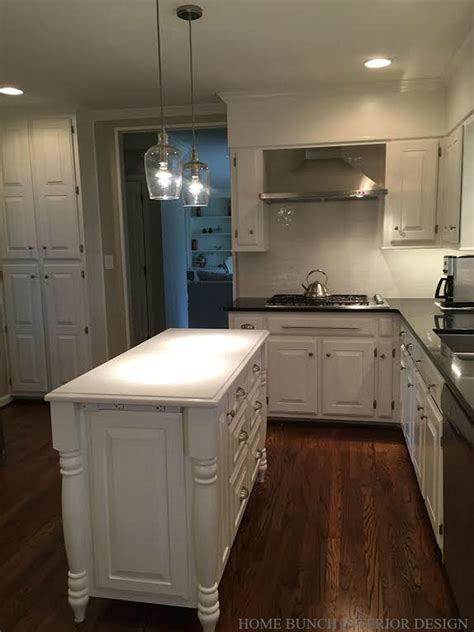 kitchen reno  painted cabinets home
