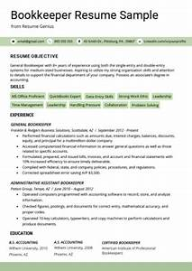 Banker Objective Resume Accountant Resume Sample And Tips Resume Genius